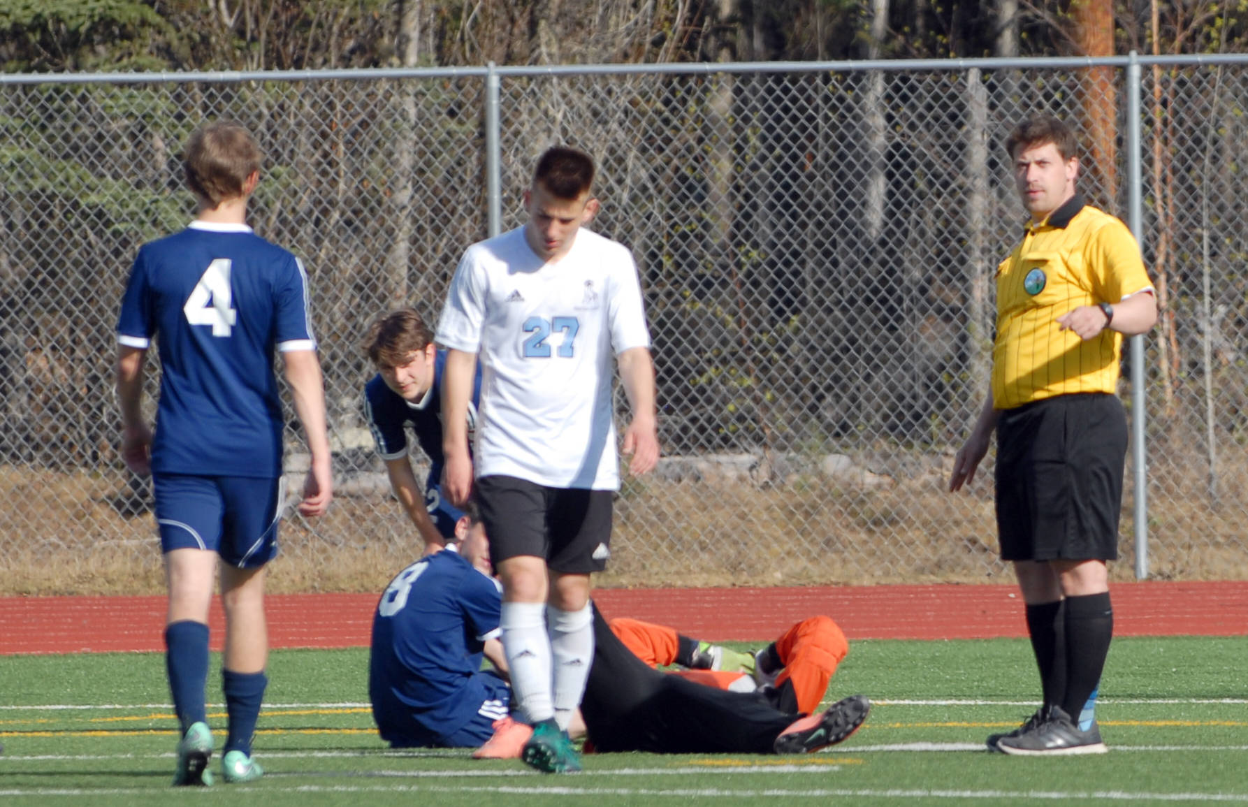 eagle river boys to forfeit soccer match due to player safety