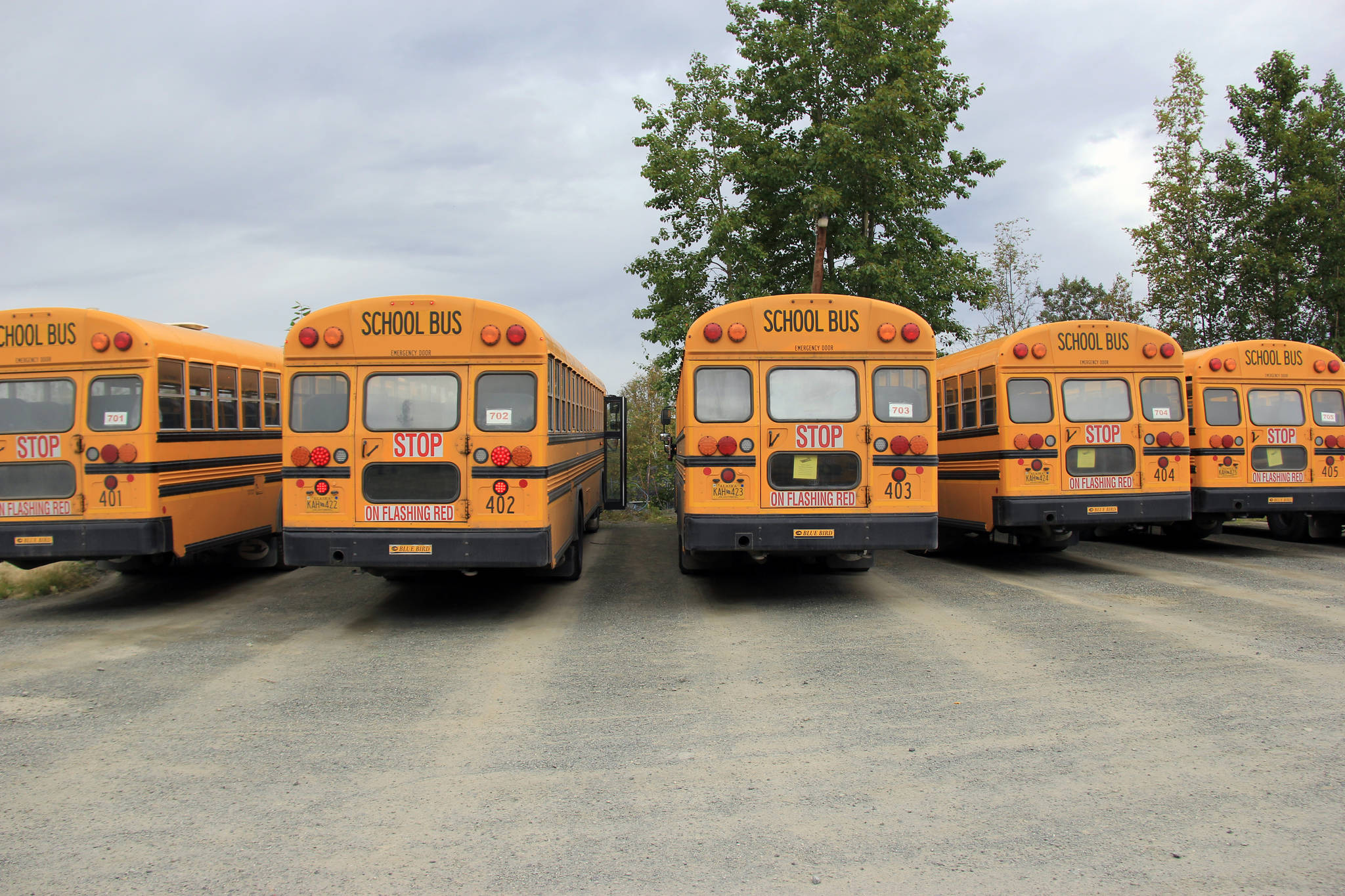Chugiak Bus Barn Keeps Local Students Moving The Alaska Star
