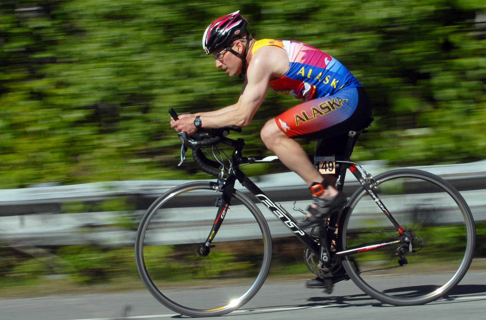 The Racers Edge Triathalon and Time Trial Bicycles