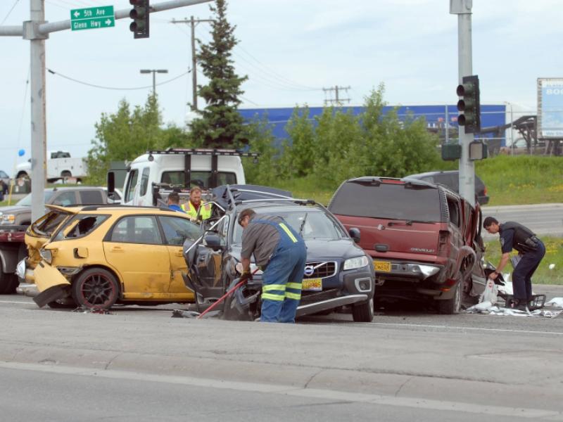 Glenn Mayhem: Hit-and-run driver, bear, moose cause 3 separate