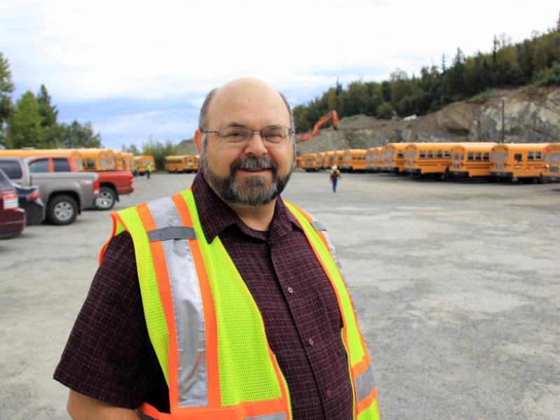 Chugiak bus barn keeps local students moving | The Alaska Star