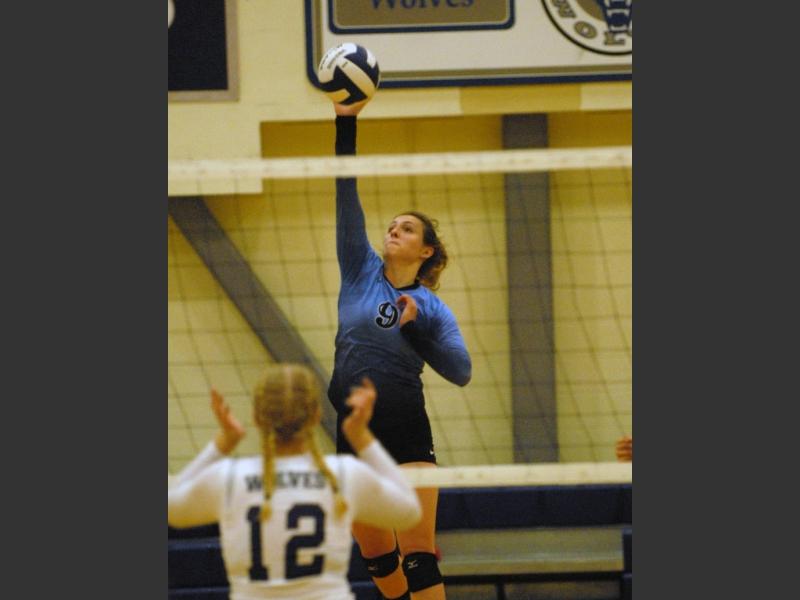 Chugiak volleyball sweeps Eagle River | The Alaska Star