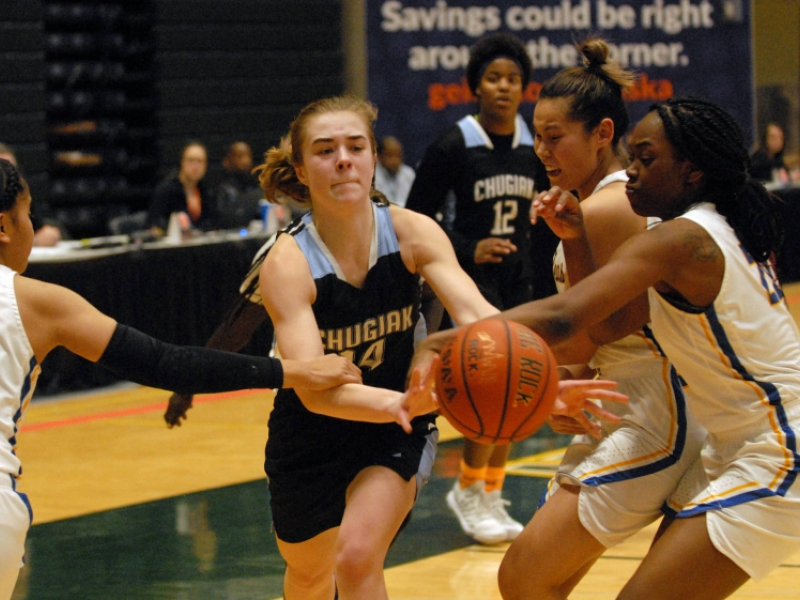 Chugiak Girls Come Up Short In State Basketball Semis